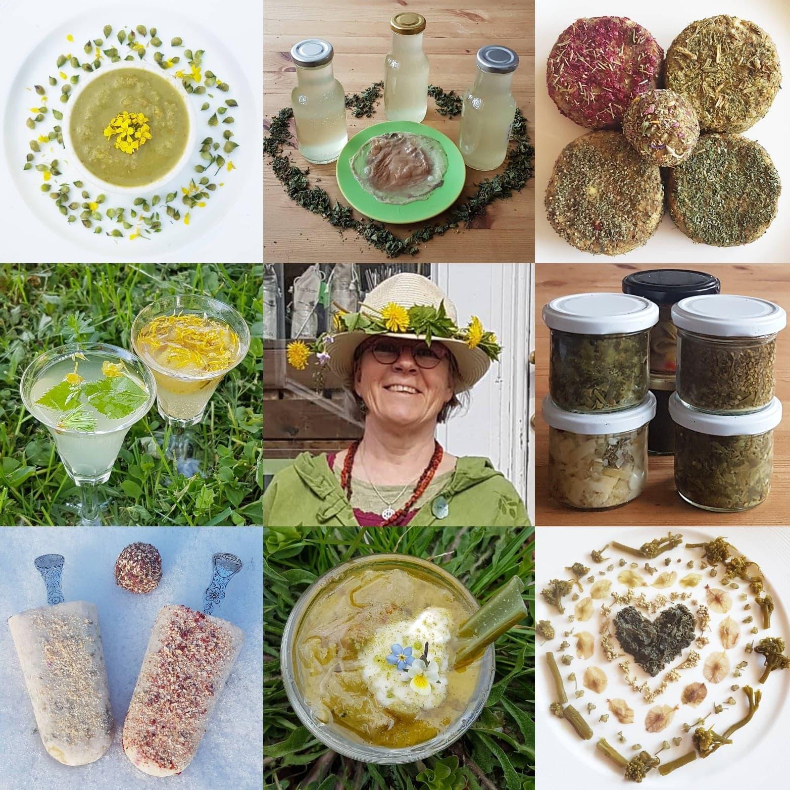 Fermentering av ville vår-grønnsaker og permagrønnsaker